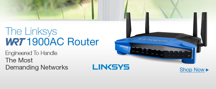 Linksys WRT 1900AC Dual Band Gigabit Wi-Fi Router