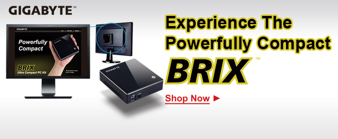 GIGABYTE Brix buy now