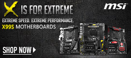 MSI X99 Motherboards