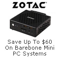 Save up to $60 on Barebone Mini PC systems