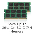 SO-DIMM Memory Upgrades