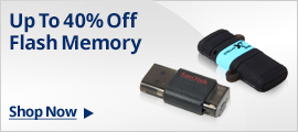Up To 40% Off Flash Memory Shop Now