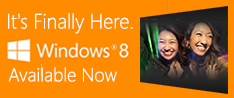 Windows 8 Available Now
