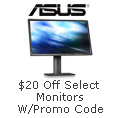 $20 off & Free Shipping on Select Monitors with Promo Code