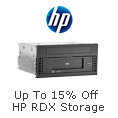 Up To 15% Off HP RDX Storage