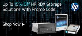 Up To 15% Off HP RDX Storage