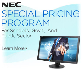 NEC Special Pricing Program