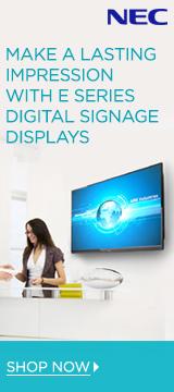 NEC E Series Digital Signage