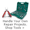 Handle your own repair projects, shop tools
