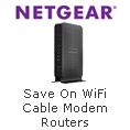 NETGEAR® WiFi Cable Modem Routers