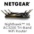 Nighthawk X6 AC3200 Tri-Band WiFi Router