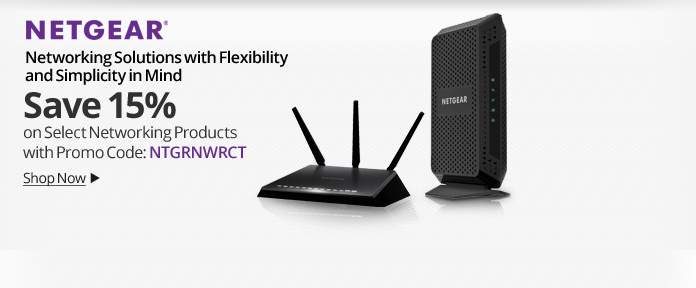 Netgear: 15% Off Select Products