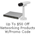Up To $50 Off Networking Products W/ Promo code