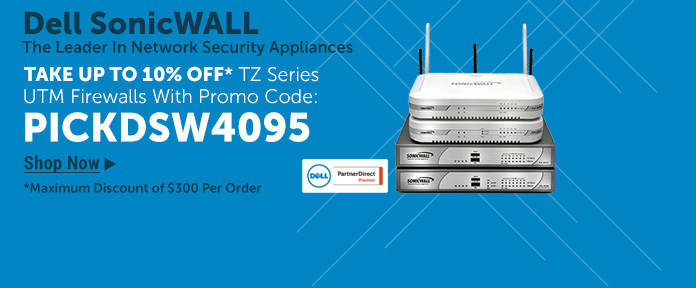 Dell SonicWALL 10% Off
