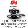 $1000 off videoconferencing system w/ promo code