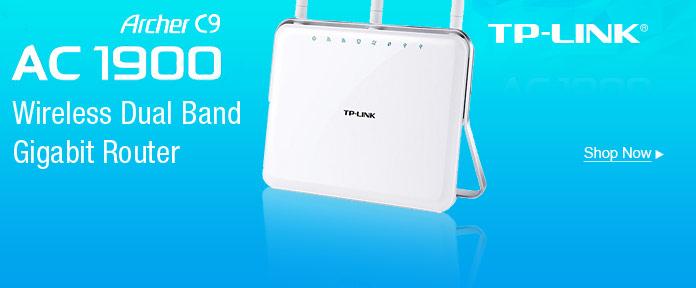TP-LINK Archer C9 AC 1900 Wireless Dual-Gigabit Router