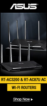 ASUS RT-AC3200 & RT-AC87U AC WI-FI ROUTERS