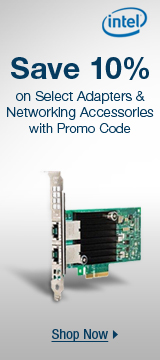 Save 10% on select adapters & networking accessories with promo code