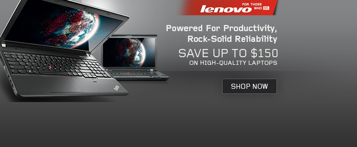 Lenovo Notebooks