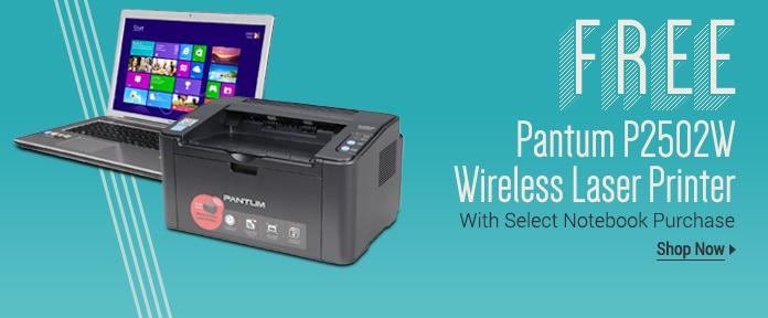 Free Pantum Wireless Laser Printer