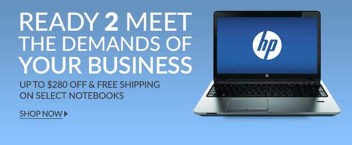 Up To $280 OFF&FREE SHIPPING ON SELECT NOTEBOOKS
