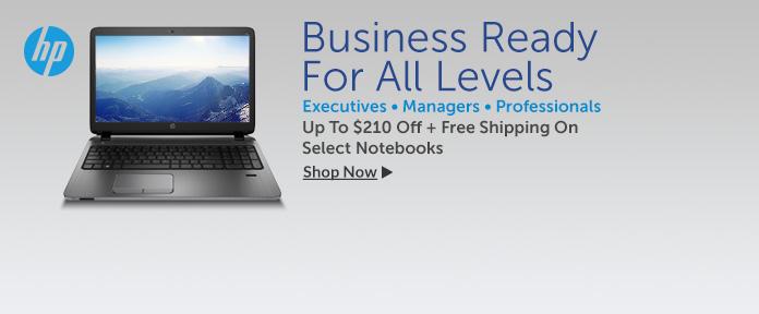 HP Notebooks - EliteBooks & ProBooks - Up To $210 Off -
