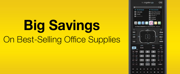 Big Savings On Best-Selling Office Supplies