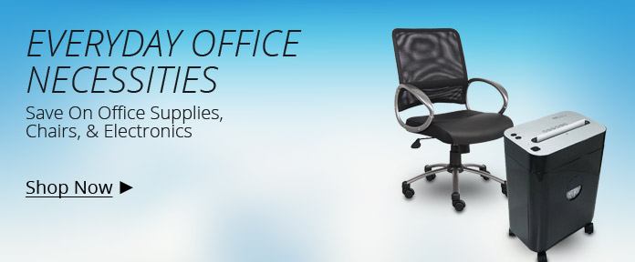 Save On Office Supplies, Chairs, & Electronics