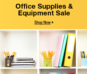 Office Supplies & Equipment Sale
