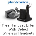Plantronics Wireless Headsets - Free Handset Lifter With Purchase