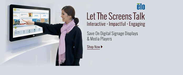 Save On Digital Signage Displays & Media Players