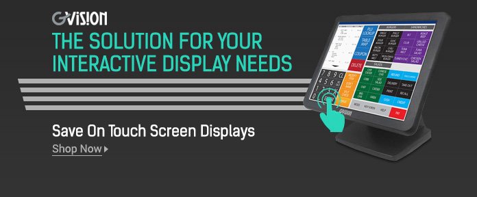 Save On Touch Screen Displays