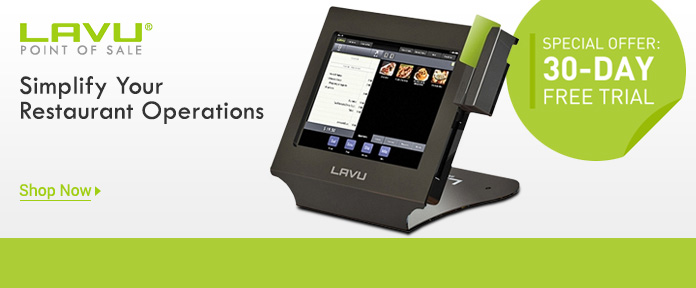 Lavu® Point Of Sale Special Offer: 30-Day Free Trial