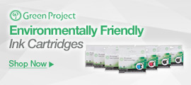 Green Project Environmentally Friendly Ink Cartridges