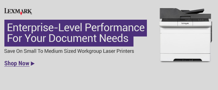 Small to medium sized workgroup laser printers