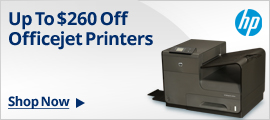 Up to $260 Off Officejet Printers