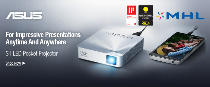 S1 LED Pocket Projector