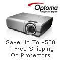 Save Up To $550+Free Shipping on Projectors