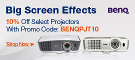 10% Off Select Projectors With Promo Code