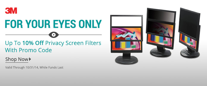 10% Off Select Privacy Screen Filters w/ promo code