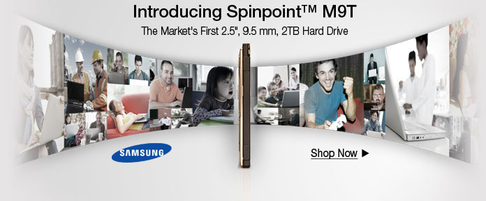 Introducing Spinpoint M9T
