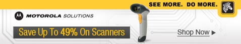 Motorola Solutions-Zebra Technologies Scanners – Save Up To 49%