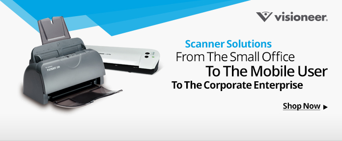 Scanner Solutions From The Small Office To The Corporate Enterprise