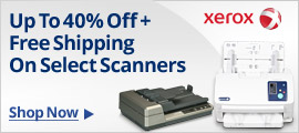 Up to 40% off + free shipping on Select Scanners