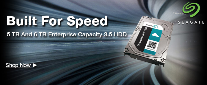 5 TB And 6 TB Enterprise Capacity 3.5 HDD