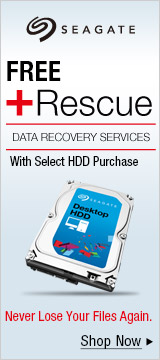 Seagate Free +Rescue With HDD