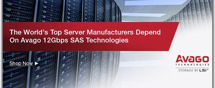Avago 12Gbps  SAS Technologies