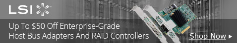 LSI Avago Host Bus Adapters and RAID Controllers