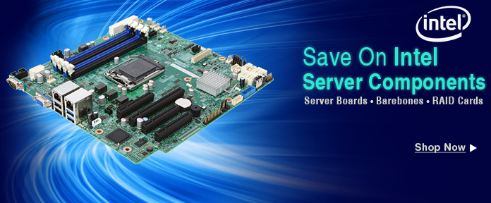 Save on Intel server components