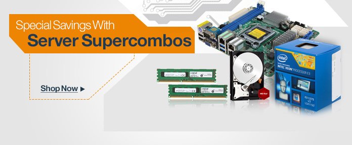 Special savings with server supercombos